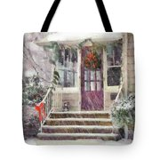 Winter - Christmas - Silent Day  Tote Bag
