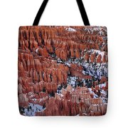 Winter Afternoon At Inspiration Point Bryce Canyon National Park  Utah Tote Bag