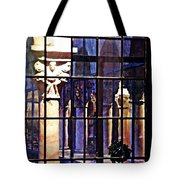 Winter Afternoon At The Cloisters 4 Tote Bag