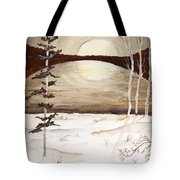 Winter Apex Tote Bag