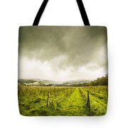 Winter Apple Orchard Tote Bag