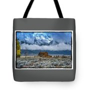 Winter Approaching Tote Bag