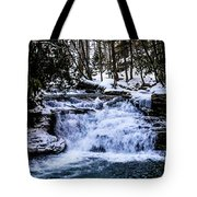 Mill Creek Falls Wv Tote Bag