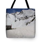 Winter At The Boston Mine 3 Tote Bag