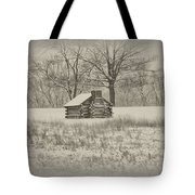 Winter At Valley Forge Tote Bag