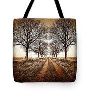 Winter Avenue Tote Bag