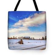 Winter Barn 3 Tote Bag