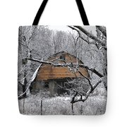 Winter Barn Iv Tote Bag
