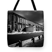Winter Bates Mill Tote Bag
