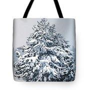 Winter Blanket Tote Bag