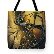 Winter Blossom By Madart Tote Bag