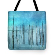 Winter Blues  7913 Tote Bag