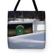 Winter Break Tote Bag
