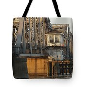 Winter Bridgehouse Tote Bag
