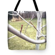 Winter Bud Tote Bag