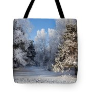 Winter Charm Tote Bag