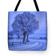 Winter Chill Tote Bag