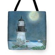 Winter Coast Tote Bag