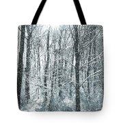 Winter Cold Tote Bag