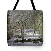 Winter Colors On The Klawock Tote Bag