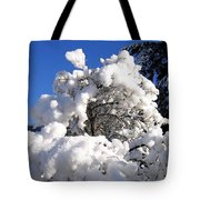 Winter Cotton Tote Bag