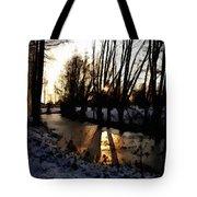 Winter Creek H B Tote Bag