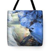 Winter Creek Tote Bag