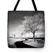 Winter Darkness Tote Bag