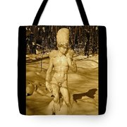 Winter David Tote Bag