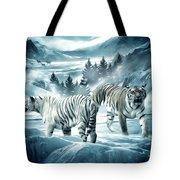 Winter Deuces Tote Bag by Lourry Legarde