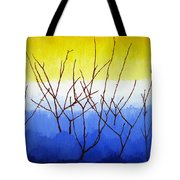 Winter Dogwood Tote Bag