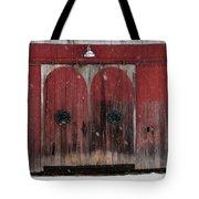 Winter Doors Tote Bag