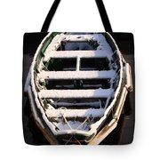 Winter Dory Tote Bag