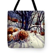 Winter Drifts Tote Bag
