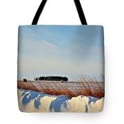 Winter Dunes Tote Bag