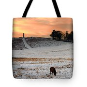Winter Dusk At Bradgate Park Tote Bag