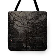 Winter Dusk Tote Bag