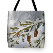 Winter Dusting Tote Bag