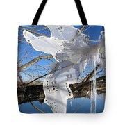Winter Fairy Wings Tote Bag