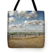 Winter Fences In Grand Haven 3.0 Tote Bag
