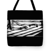 Winter Fences Tote Bag