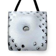 Winter Filigree Tote Bag