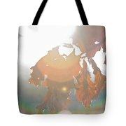 Winter Flare Tote Bag