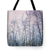 Winter Forest Tote Bag by Priska Wettstein