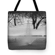Winter Fountain Tote Bag