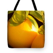 Winter Fruit Tote Bag
