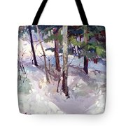 Winter Garden Plein Air Tote Bag