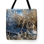 Winter Grass Tote Bag