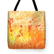Winter Grasses Tote Bag