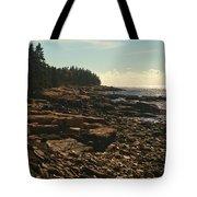Winter Harbor Maine Tote Bag